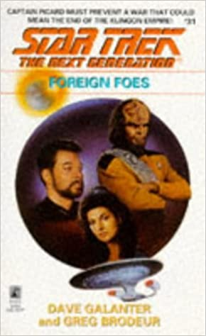 FOREIGN FOES STAR TREK NEXT GENERATION 31