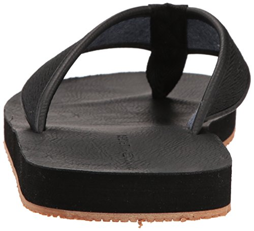 Tommy Hilfiger Hombres Dizzy Sandal Black Multi Fabric