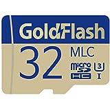 GoldFlash MLC 32GB MicroSDHC UHS-I Card Adapter-95MB/s U3