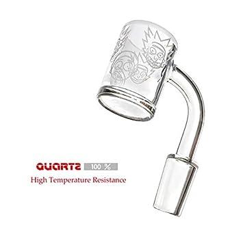 Mother Ship-Glass Heat Resistant Quartz Smokeless Kit 18MM Female
