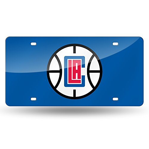 NBA Los Angeles Clippers Laser Inlaid Metal License Plate Tag, ()