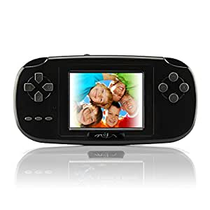 "Game Handheld Console,Rongyuxuan Game Console 2.8""LCD PVP PLUS Game Player Classic Handheld Game Console USB Charge Birthday Christmas Gift for Children"