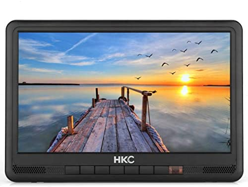 HKC P10H6 Mini TV portátil (TV HD de 10 Pulgadas) HDMI + USB, 60Hz ...
