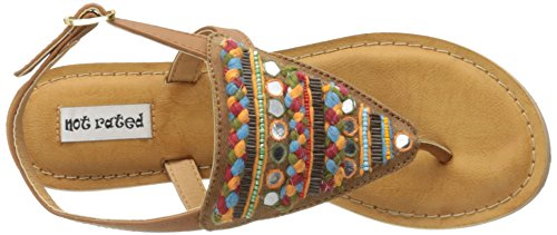 Gladiator Bronceado Women's Sandal Rated Not Sylen qwxF4HW0