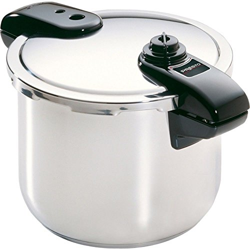 Presto 01370 8 Quart Stainless Steel with Tri-clad Base Pressure Cooker