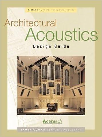 Architectural Acoustics Design Guide Professional Architecture