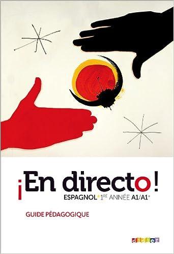 Lire un En directo 1re année - guide pédagogique epub, pdf