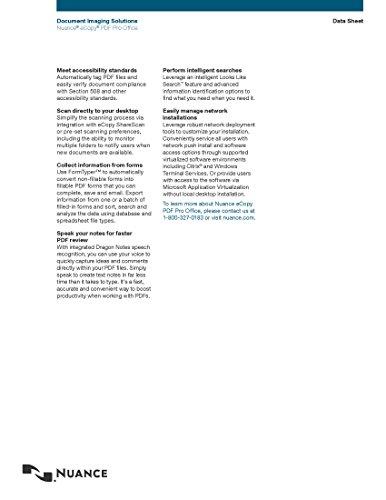 Nuance eCopy PDF Pro Office - Single User License by eCopy (Image #4)