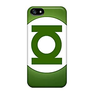 Shock Absorption Hard Cell-phone Cases For Iphone 5/5s With Support Your Personal Customized High-definition Green Lantern Series ErleneRobinson