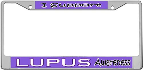lupus license plate frame - 2