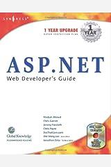 ASP.net Web Developer's Guide (With CD-ROM) Paperback