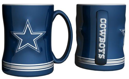NFL Dallas Cowboys Boxed Relief Sculpted Mug (Nfl Dallas Cowboys Mug)