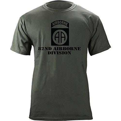 Airborne Division Subdued Veteran T Shirt