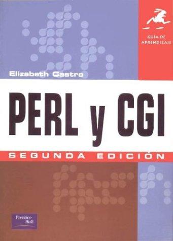 Perl y CGI Guia de Aprendizaje (Spanish Edition) by Prentice Hall