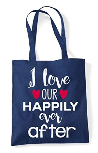 Our I Happily Tote Love Ever Navy Bag After Shopper pa4q4