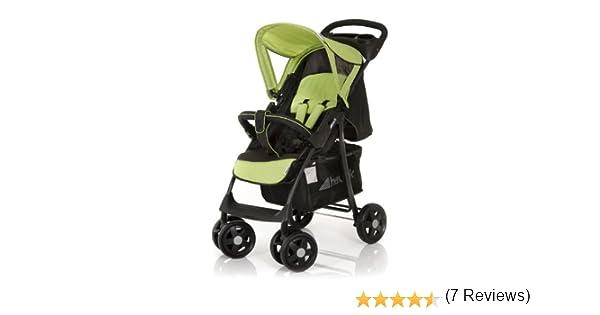 Hauck Shopper - Silla de paseo, color negro/verde
