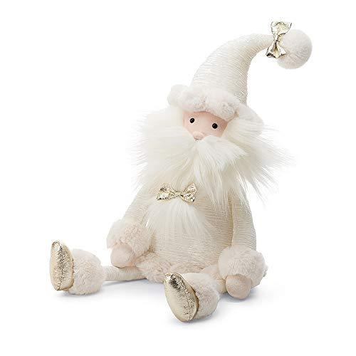 (Jellycat Snowflake Santa Christmas Decoration Plush Stuffed Animal, Large, 22 inches)