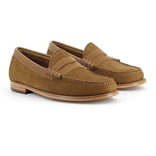 Weejuns Larson Reverso Tan suede discount Cheapest professional for sale cheap sale sale ZaLp5w
