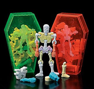 Image result for interlocking skeleton candy