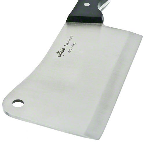 Update International KCL-7HD Stainless Steel Cleaver, 7-Inch