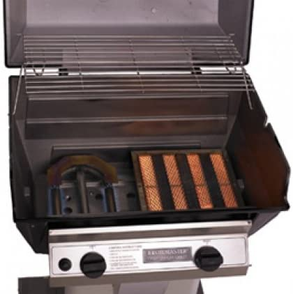 Broilmaster R3B Grill Head Infrared Combo Natural Gas, Black