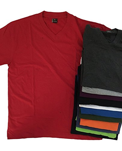 solid-color-v-neck-t-shirts-sorted-color-pack
