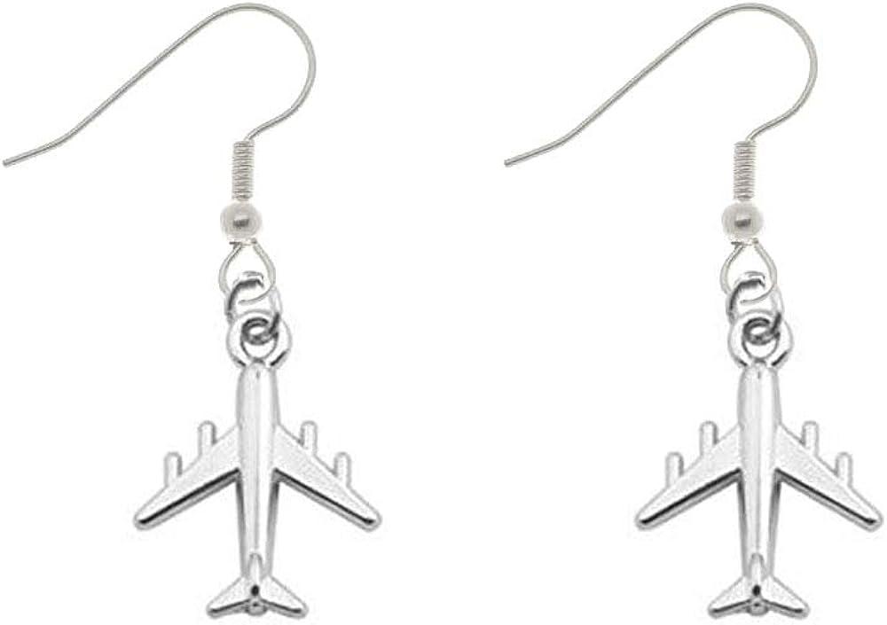 Elegant Cute Flying Airplane Handcuffs Infinite Y-Shape Pendant Necklace Punk Jewelry Women Girl