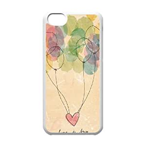 Balloons ZLB810296 Customized Phone Case for Iphone 5C, Iphone 5C Case