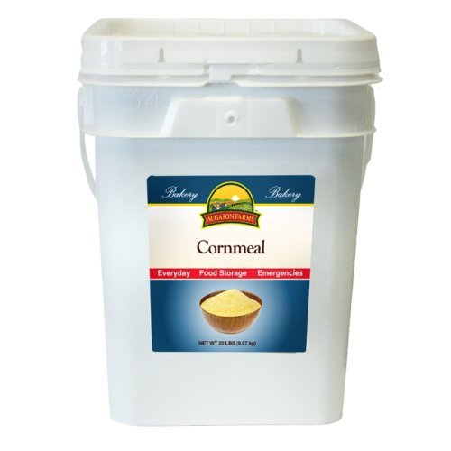 Price comparison product image Augason Farms Cornmeal 22 Pound Pail