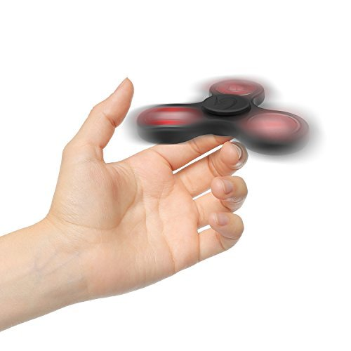 2 Pack Fidget Spinner Toy Stress Reducer – Perfect For ADD, ADHD, Anxiety, and Autism Adult Children for Killing Time.