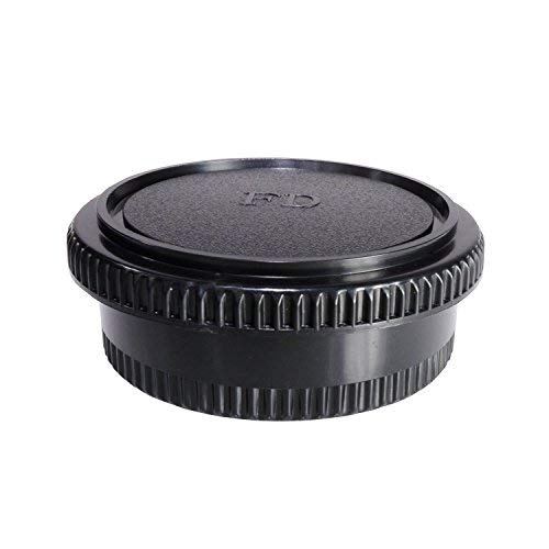 CamDesign Rear Lens Cap & Body Cap Set Compatible with Canon FD lens fit FL original FD & FD lenses w/ Canon F-1 FTb FTbn EF TLb F-1n,AE-1 AT-1 A-1 AV-1 New F-1,AE-1 Program,AL-1 T50 T70 T80 T90 T60