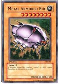 Yu-Gi-Oh! - Metal Armored Bug (AST-005) - Ancient Sanctuary - Unlimited Edition - Common - Metal Armored Bug
