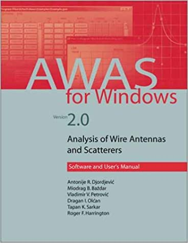 Como Descargar De Mejortorrent Awas 2.0 For Windows: Analysis Of Wire Antennas And Scatterers Ebooks Epub