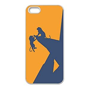 Hakuna Matata on Sunset Lion King Custom Case Covers for iPhone 5S (TPU£©