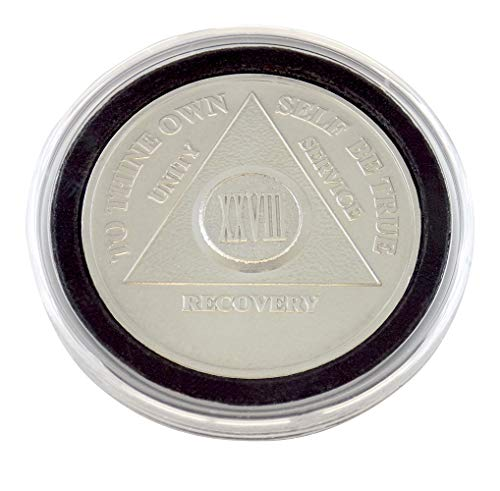 28 Year - Special AA Coins - .999 Silver AA Medallion   Recovery Shop (Silver 0.5 Ounce Coin)