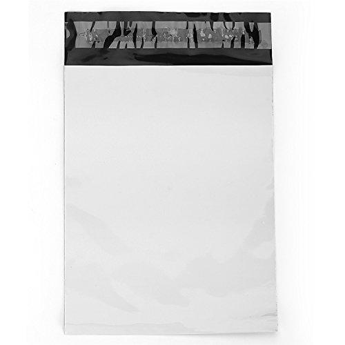 "Poly Mailers Shipping Bags Self Sealing, White,100pcs/Bag (10""x13"")"