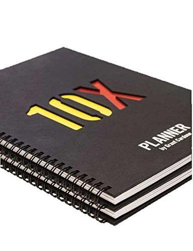 Grant Cardone 10x Rule Planner (2 Pack)