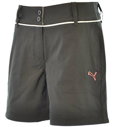 PUMA(プーマ) ゴルフWリソッドショートパンツ 923095-01 ブラック レディース Mサイズ