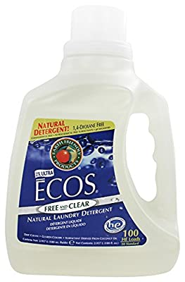 Earth Friendly - ECOS Ultra Laundry Detergent Free and Clear