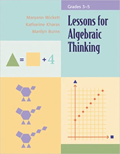 Amazon.com: Lessons for Algebraic Thinking: Grades 3-5 ...