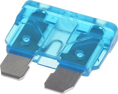 15-Pack The Hillman Group 50073  Blade Fuse ATO15 Blue