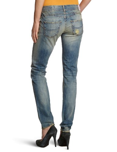 Herrlicher Gila Denim Stretch - Accesorio con Slim fit para mujer Azul (Busted)