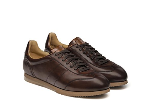 Magnanni Aiden Midbrown Mens Moda Sneakers Midbrown