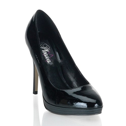 Pinup Couture Bliss-30 - Sexy High Heels Mini-Plateau Pumps 35-42