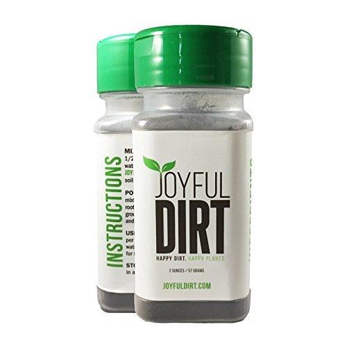 Joyful Dirt Organic All Natural Fertilizer - 2 oz Shaker