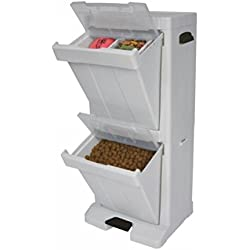 Richell Pet Stuff Tower for Food Storage