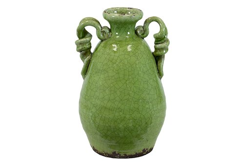 (Urban Trends 76037 Decorative Ceramic Tuscan Green Vase)