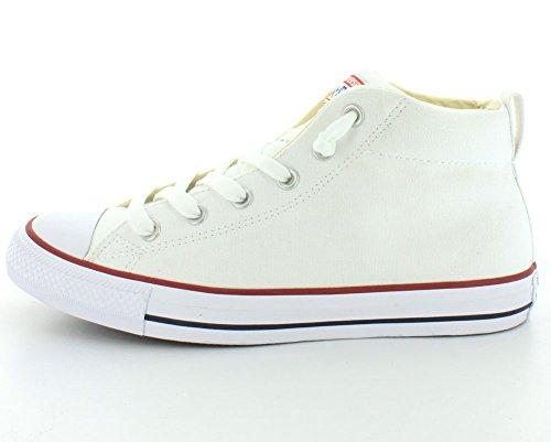 Conversar estrella Calle Chuck Taylor All zapatilla de deporte blanco (White/Natural)