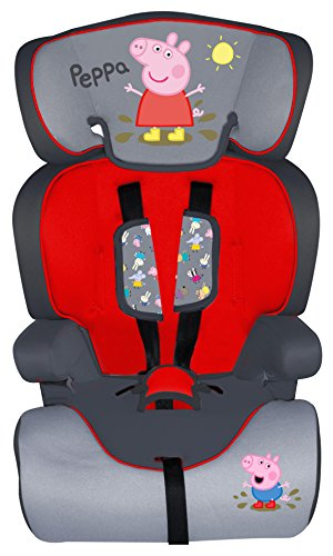 Disney 70105 Peppa Pig Auto-Kindersitz, 9-36 kg