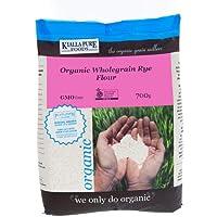 Kialla Pure Foods Organic Wholegrain Rye Flour, 700 g